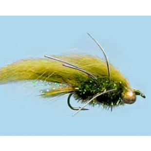 Turrall Streamer/Lure Zonker Olive - Size 8