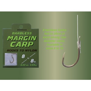 Drennan Barbless Margin Carp