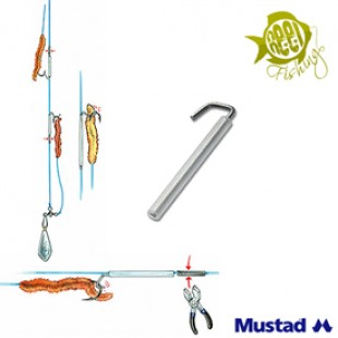 Mustad Wire Bait Clip Size 1 Qty 10