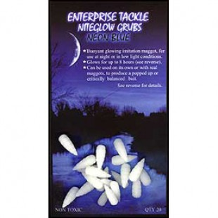 Enterprise Niteglow Grubs Neon Green