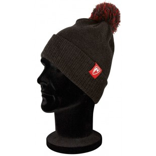 Fox Rage Dark Grey Bobble Hat
