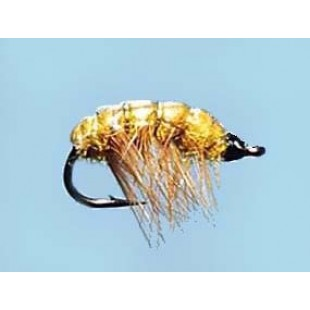 Turrall Standard Nymph Shrimp-Yellow - Size 12