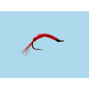 Turrall Standard Nymph Bloodworm Glass - Size 10