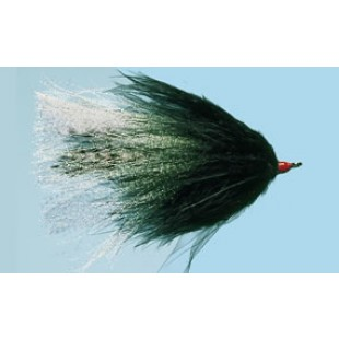 Turrall Black Pike Fly Size 4/0