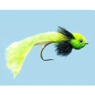 Turrall Widower Chartreuse Pike Fly In Size 3/0