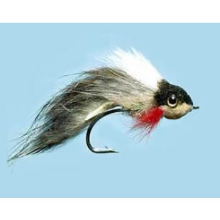 Turrall Widower Tow-Faced Pike Fly In Size 3/0