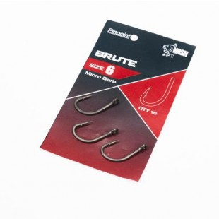 Nash Brute Micro Barbed Hooks Size 8