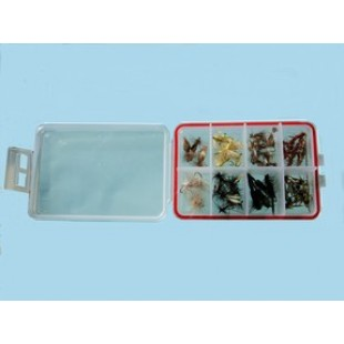 Turrall Plastic Fly Box 8 compartments