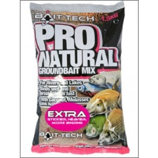 vBait Tech Pro Natural Extra Groundbait Mix