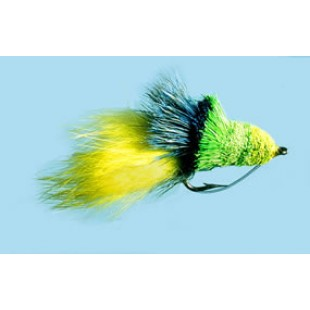 Turrall Diver Chartreuse Premium Saltwater Fly Size 4