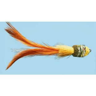 Turrall Samba Orange Premium Saltwater Fly Size 3/0