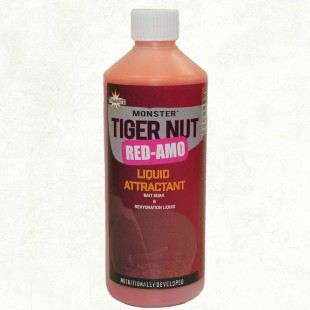 Dynamite Monster Tiger Nut Red-Amo Liquid Attractant 500ml, boilie and pellet soak or to enhance spod mixes.