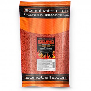 Sonubait Spicy Meaty Method Mix 2kg