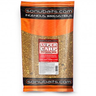 Sonubait Super Crush Super Carp Method Mix Groundbait 2kg