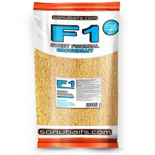 Sonubait F1 Original Sweet Fishmeal Groundbait 2kg