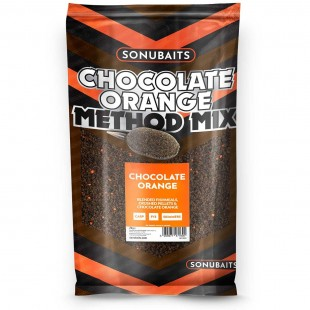 Sonubait Chocolate Orange Method Mix Groundbait 2kg