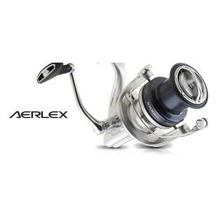 New from Shimano the Aerlex 10000 XSB is a powerful quality fixed spool reel built to withstand whatever the sea can throw at it.