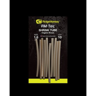 Ridgemonkey RM-Tec Shrink Tube 3.6mm Organic Brown
