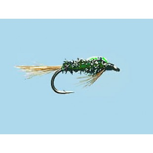 Turrall Slim-Line Nymph Diawl Bach Size 10