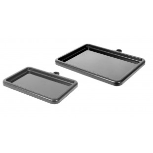 The new design Preston Offbox Pro Small Side Tray is prfect for use on all makes of boxes