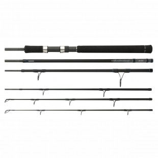 The new Shimano STC Powergame Boat travel rod is powerful enough to fish for Big game species all over the world, & ,with a transport length of 70cm it can be taken almost anywh
