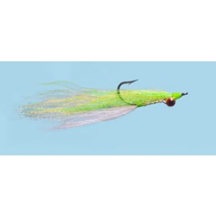 Turrall Salt Water Clouser Chartreuse