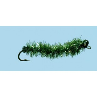 Turrall Salt Water Lob Worm-Olive Size 6