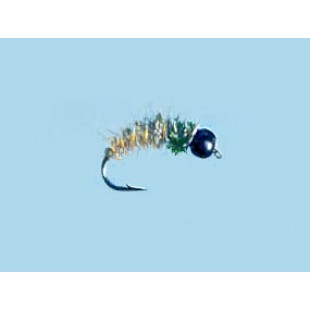 Turrall Tungsten Bead Hd Caddis Hare'S Ear