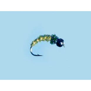 Turrall Tungsten Bead Hd Caddis-Olive