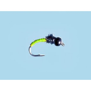 Turrall Tungsten Bead Hd Titanic-Chartreuse - Size 12