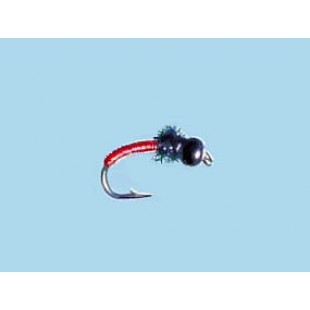 Turrall Tungsten Bead Hd Titanic-Red - Size 12