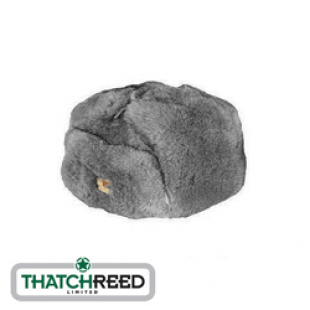 Thatchreed Cossack Hat in Grey Please note: this hat is grey not natural