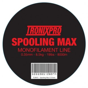 Tronixpro Spooling Max Monofilament line Red