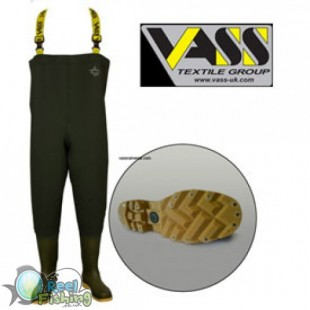 Vass Tex 740 SuperNova Chest Wader studded sole