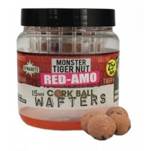 Dynamite Baits Cork Ball Wafters Monster Tiger Nut Red-Amo