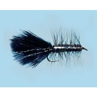 Turrall Woolly Bugger Black - Size 8