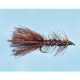 Turrall Woolly Bugger Brown - Size 10