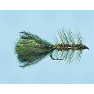 Turrall Woolly Bugger Olive - Size 8