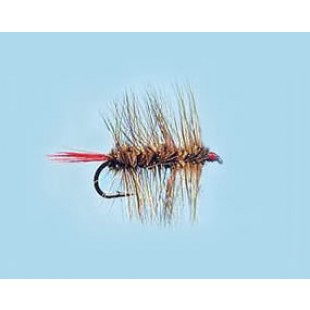Turrall Woolly Worm Brown - Size 10