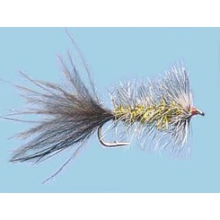 Turrall Woolly Bugger Dazzle Leech - Size 10