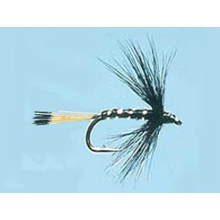 Turrall Wet Hackled Black Pennell
