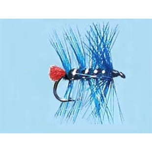 Turrall Wet Hackled Zulu-Blue