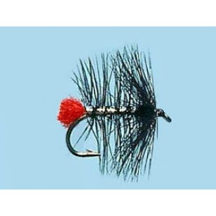 Turrall Wet Hackled Zulu-Silver - Size 12