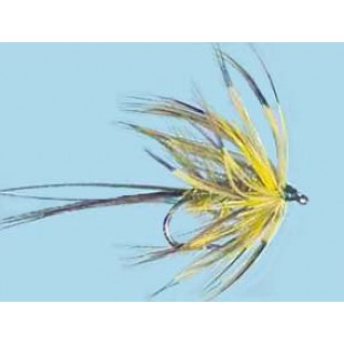 Turrall Wet Hackled Golden May - Size 10