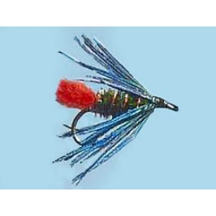 Turrall Wet Hackled Goat'S Toe - Size 12