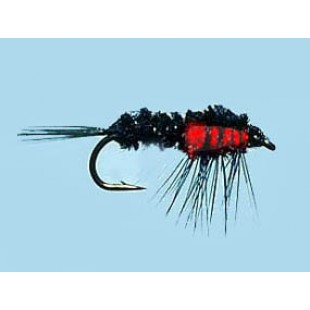 Turrall Weighted Nymph Montana Red - Size 10