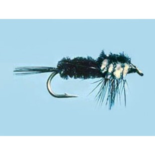 Turrall Weighted Nymph Montana White - Size 10