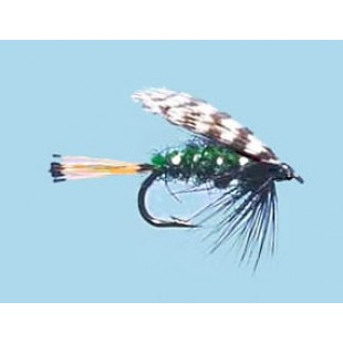 Turrall Wet Winged Teal & Green - Size 12