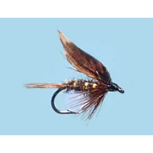 Turrall Wet Winged Woodcock & Hares Ear - Size 12