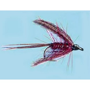 Turrall Wet Winged Dabbler Claret - Size 10